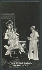 Foto de la Virgen del Carmen andactsbild santino holy card santini