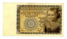 Netherlands ... P-57 ... 25 Gulden ... (20.MAY.1940) ... *VF+*