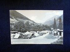 OLD PHOTO-PC: AIGLE~LE CAMPING~LE CHAMOSSAIRE~ANIMATED~VINTAGE CARS~1960's