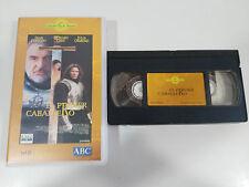 EL PRIMER CABALLERO TAPE VHS COLECCIONISTA SEAN CONNERY RICHARD GERE ORMOND