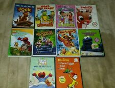 Sesame Street Elmo and various Kids DVD lot