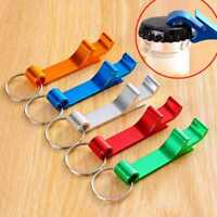 1Pc Bottle Opener Key Ring Chain Keyring Keychain Metal Beer Bar Tool Claw AU
