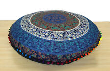 """Large 32"""" Round Cushion Cover New Multi Mandala Floor Decorative Pillow Covers"""