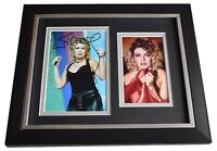 Kim Wilde SIGNED 10x8 FRAMED Photo Autograph Display Music Memorabilia AFTAL COA