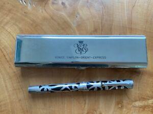Sheaffer Nostalgia Orient Express VSOE Sterling Fountain Pen - Rare