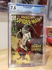Amazing Spider-Man #76 - CGC 7.5 - 9/69 *John Romita