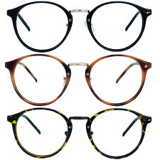 Retro Oval Round Reader Reading Glasses For Men and Women 1.00-4.00