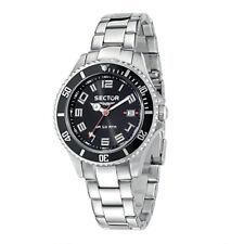 SECTOR WATCH SECTOR 230 black gent steel - R3253161025