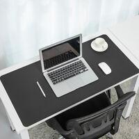 PU Leder Schreibtischunterlage Schreibtischmatte  Mauspad Tastatur Matte Gaming