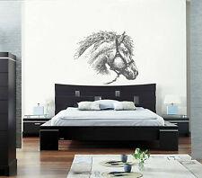 ik386 Wall Decal Sticker horse animal bedroom