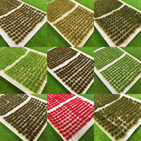 300x Mini Tufts - Model Scenery Railway Wargames Scenic Static Grass Small Tiny