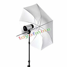 "43"" Soft White Umbrella Translucent Diffuser For Photo Studio Lighting Stand Kit"