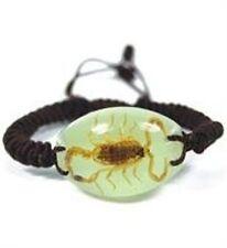 Real Oval Scorpion Bracelet