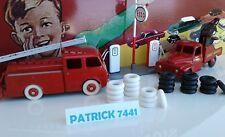 Lot de 24 Pneus Dinky toys 18/8  12 blanc 12 noir