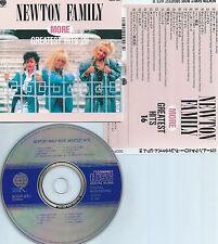 NEWTON FAMILY-MORE GREATEST HITS 16-1987-JAPAN-NO OBI STRIP-CD-MINT-