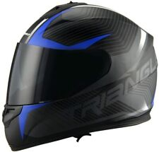 TRIANGLE Adult Full Face Street Motorcycle & Powersports Helmet with Dual Visor