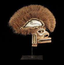 Papuan malagan mask, tatanua, new ireland, oceanic tribal art