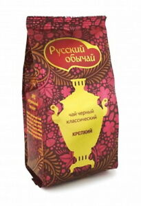 Classic Russian Black KRASNODAR Tea, Loose Leaf, 100% natural, strong infusion