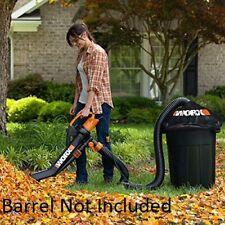 Blower Mulcher Vacuum Leaf Pro Yard Vacuum Lightweight Powerful Easy All In One