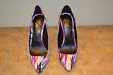 Lust For Life Women's Multi-color Calf Hair Heels Size 9