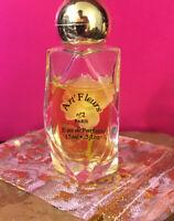 Art Fleurs No 2 Paris Eau De Parfum RARE Mini Perfume  Paris by EMB ~75% Full