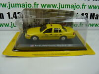 TX5F Voiture 1/43 LEO model TAXIS DU MONDE : FORD CROWN VICTORIA - New York 1992