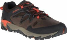 NEW Mens Merrell All Out Blaze 2 Clay Brown Black Leather Hiking Shoes AUTHENTIC