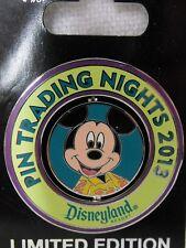 2013 Disney LE Pin Trading Night DLR Mickey in Hawaiian Shirt SURPRISE Spinner