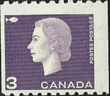 Canada    # 407  QUEEN ELIZABETH II CAMEO ISSUE     Brand New 1963  Coil Issue
