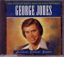 TIME LIFE Legendary Country Singers GEORGE JONES Oop 1995 CD Music Hall of Fame
