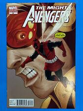 MIGHTY AVENGERS #34 Comic Book DEADPOOL VARIANT Marvel Siege NM 9.4