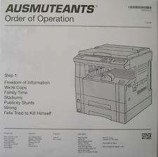 AUSMUTEANTS LP ORDER OF OPERATION VIDEO SCREAMERS X TOTAL CONTROL SAINTS AC/DC