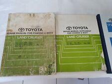 Toyota Landruiser 75 Series Workshop Manual Set