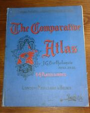THE COMPARATIVE ATLAS 1907 64 PLATES
