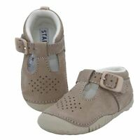 Start-rite Boy's Baby Jack Sand Nubuck Leather Pre-walker Shoes
