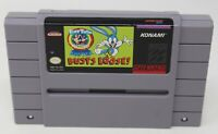 Tiny Toon Adventures Buster Busts Loose Super Nintendo SNES Video Game AUTHENTIC