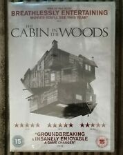 The Cabin In The Woods DVD Brand New Sealed Chris Hemsworth Sigourney Weaver