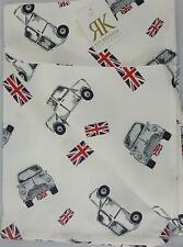 Roy Kirkham Union Jack 4 x Set of 2(8 total)100% Cotton Tea Towel Kitchen Towels
