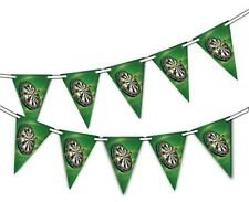 Darts - Board - Bunting Banner 15 flags Darts Championships by Party Decor