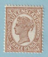 QUEENSLAND 134 MINT NEVER HINGED OG *  NO FAULTS EXTRA FINE !