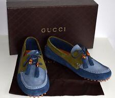 Gucci zapatos caballero Bamboo Tassel serraje talla 45,5 UK 11,5 us 12 367923