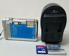 Olympus Stylus Tough 8010 14.0MP Waterproof Shockproof Digital Camera - Blue