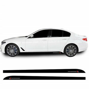 Car Accessories Side Skirt Stickers Decal Sticker M Performance Graphics
