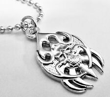 BLADES Skull German Harley Biker Military Indian Victory Pendant Necklace Chain