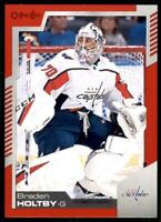 2020-21 UD O-Pee-Chee Red Border #307 Braden Holtby - Washington Capitals