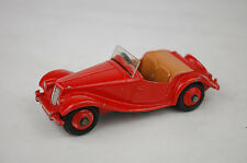 """Dinky #129 MG Midget Sports Car 1954 England 1:43 3 1/4"""" Long US Issue Excellent"""