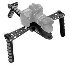 Ivation Pro Steady DSLR Rig System & Shoulder Mount For Video Stabilization Grey