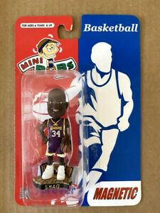 Shaquille O'neal SHAQ Los Angeles Lakers Mini Bobble Head Magnet