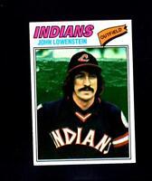 1977 Topps # 393 John Lowenstein NM-MT