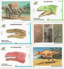 1992 Dinocardz 9 Card Lot With Allosaurus Nm